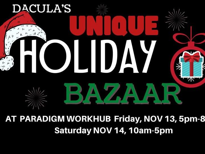 Unique Holiday Bazaar